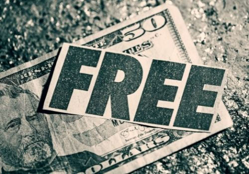 Don't get tempted by sites offering free money
